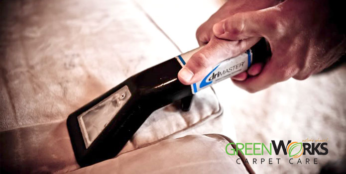 Upholstery Cleaning by Greenworks Carpet Care